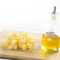 Remplacer le beurre par de l'huile – Tableau de conversion (g, ml et cl)